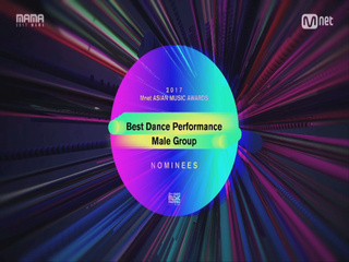 [2017 MAMA] Best Dance Performance Male Group Nominees_2017마마