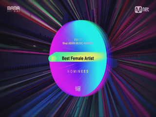 [2017 MAMA] Best Female Artist Nominees_2017마마