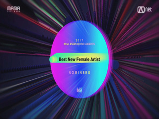 [2017 MAMA] Best New Female Artist Nominees_2017마마