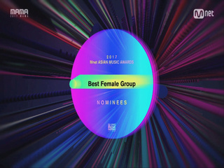 [2017 MAMA] Best Female Group Nominees_2017마마