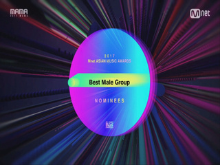 [2017 MAMA] Best Male Group Nominees_2017마마