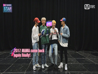 [2017 MAMA] Star Countdown D-17 by GOT7_2017마마