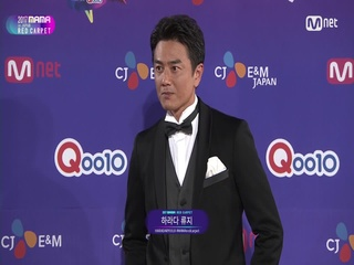 [2017 MAMA in Japan] Red Carpet with Harada Ryuuji(하라다 류지)_2017마마