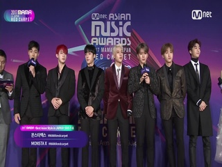 [2017 MAMA in Japan] Red Carpet with MONSTA X(몬스타엑스)_2017마마