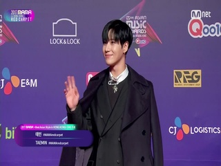 [2017 MAMA in Hong Kong] Red Carpet with SUNMI(선미) & TAEMIN(태민)_2017마마