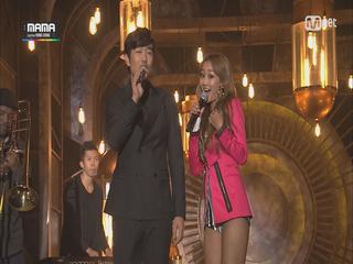 씨스타, 4남자와 ′썸′ 무대(feat. 이종혁, 남주혁, 피오, 정기고)(2014 MAMA)