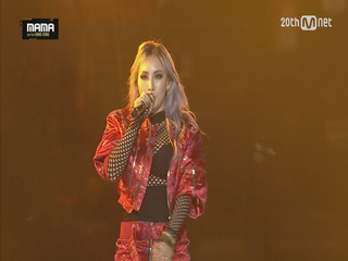 [2015MAMA] 씨엘(CL) _ HELLO BITCHES