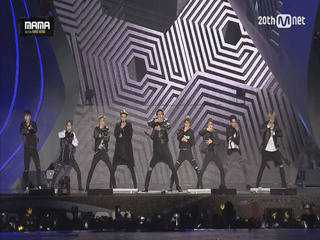 [2015MAMA] 엑소(EXO) _ CALL ME BABY PART2 INTRO + CALL ME BABY PART2