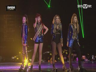 [2015MAMA] 투애니원(2NE1) _ Fire + 내가 제일 잘 나가 (I AM THE BEST)
