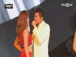 [2015MAMA] 박진영 (J.Y.Park) _ 24시간이 모자라 (24 hours)+어머님이 누구니 (Who's your mama?)