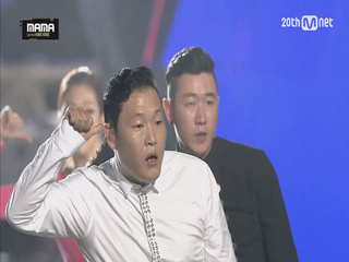 [2015MAMA] 싸이(PSY) _ 트론댄스 퍼포먼스(Tron Dance Performance)+Daddy