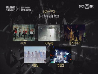 [2015 MAMA] Best New Artist Nominees