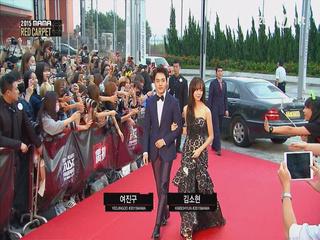 [2015MAMA] Redcarpet _ 여진구&김소현(Yeo Jin Goo & Kim So Hyun)