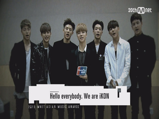 [2015 MAMA] A peek of  iKON