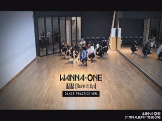 Wanna One - ′활활(Burn It Up)′ Practice Ver.