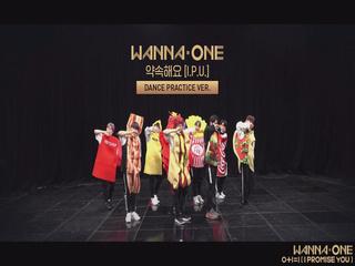 Wanna One - '약속해요(I.P.U.)' (Practice Ver.)