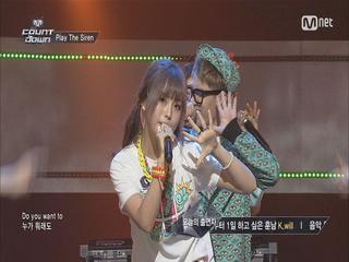 [언프리티랩스타2 출연자]캐스퍼, 과거 엠카 무대