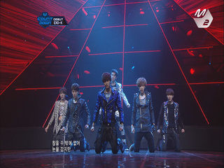 EXO-K 엠카 데뷔 무대 ′History + MAMA′