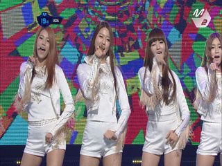AOA 데뷔곡 무대 ′Elvis′