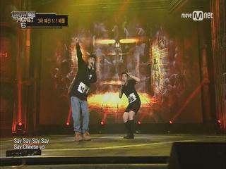[4회] Say 치~즈 yo! 넉살 vs 아토 @ 3차 예선