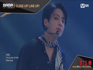 [2018 MAMA] Close Up! Line Up! #BTS