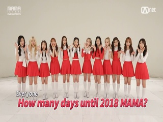 [2018 MAMA] Star Countdown D-18 by #LOONA