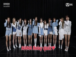 [2018 MAMA] Star Countdown D-9 by #IZONE