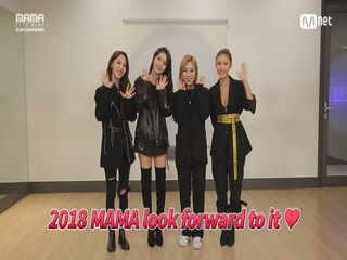[2018 MAMA] Star Countdown D-7 by #MAMAMOO