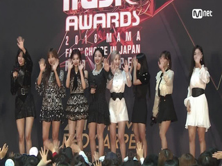Red Carpet with TWICE(트와이스)│2018 MAMA FANS' CHOICE in JAPAN