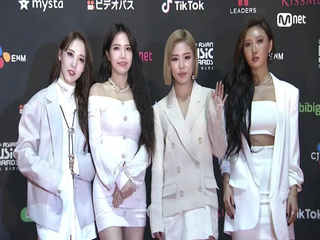 Red Carpet with MAMAMOO(마마무)│2018 MAMA FANS' CHOICE in JAPAN