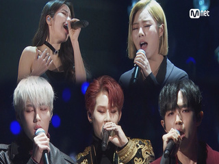 SOLAR, WHEEIN&JOOHEON&Kim Jae Hwan, HA SUNGWOON_Eyes, Nose, Lips(눈, 코, 입) / TAEYANG│2018 MAMA FANS′ CHOICE in JAPAN
