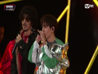 Tiger JK(타이거 JK) & Vernon(Of SEVENTEEN)_Double Up│2018 MAMA in HONG KONG