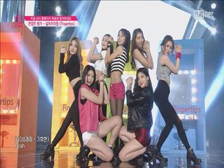 [9회] 소녀들의 귀여운 밀당! - ♬Fingertips @ 콘셉트 평가