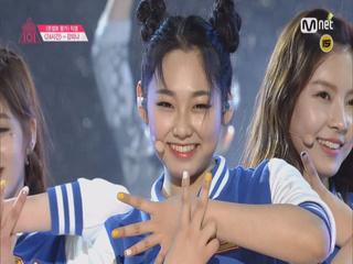 강미나 in 프로듀스101 (feat.24시간)
