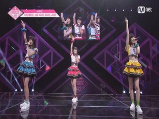 [단독/풀버전] AKB48_치바 에리이, 사토 미나미, 아사이 나나미 ♬키스를 날려 쓰러트리자 @기획사별 퍼포먼스