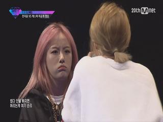 [단독공개] 전지윤 vs 캐스퍼 1 1 디스배틀 미공개 영상
