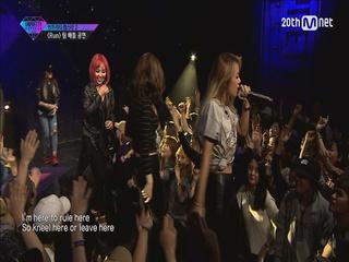 #8 트랙 팀미션 <예지, 유빈, 효린, 키디비 - RUN>