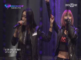 [단독공개] 팀워크배틀 선공개 '효린&키디비' 무대 풀버전