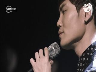 [더 콜 LIVE] 눈물 꾹꾹, 감성에 취한드아! 김범수 '끝사랑'