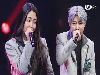 [5회] 이예찬&이지은 - 동백꽃 @1차팀대항전