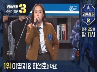 #고등래퍼3 학년별싸이퍼 조회수 TOP3 (고등래퍼 복습하기)