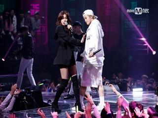 [8회]차가운 시선, 괜찮아 누가 뭐래도 마크 (feat.슬기 of 레드벨벳) - ♬두고가(Drop) @Final
