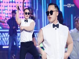 싸이 숨겨진 동생!? 마이크로닷 싱크100% 강남스타일!