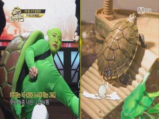 (현웃) 힙합거북이 유세윤 '거북선'