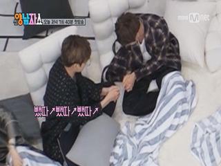 [2시간 전 선공개] ♥방탄소년단♥ 맏내와 막내의 쉬는시간 (Feat. 배불뚝이)