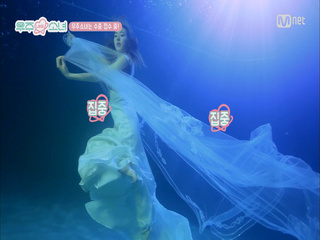 [1회] ′탈덕 원천 봉쇄′ 티저 수중 촬영 현장