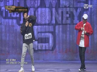 [5회] '영춘권 같은 랩' 도넛맨 VS 브레이 @ 1대1 배틀랩미션