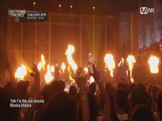 [9회/단독]'I'm the SUN blocka!' 슈퍼비 <냉탕에 상어 + 썬 블락>(feat.Microdot) @ Semi-Final