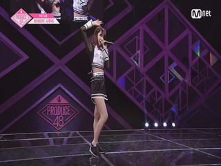 [단독/풀버전] HKT48_미야와키 사쿠라 ♬검은 천사 @기획사별 퍼포먼스