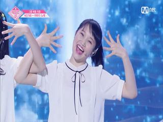 [단독/직캠] 일대일아이컨택ㅣ야마다 노에 - 여자친구 ♬귀를 기울이면_1조 @그룹 배틀